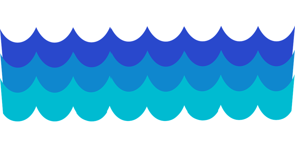 Sea Water Clipart.