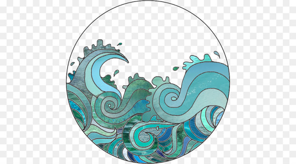 Drawing Wave Clip art.