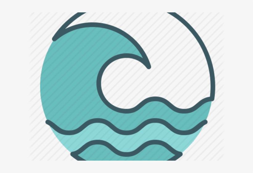 Tsunami Clipart Ocean Wave.