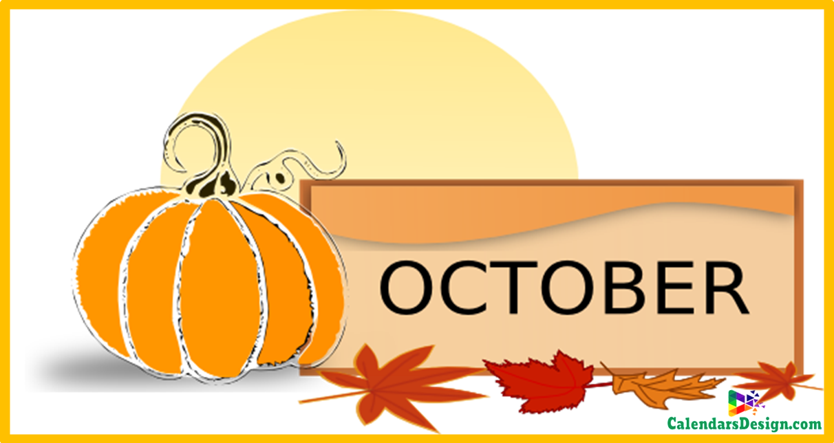 October Clipart Free Download.