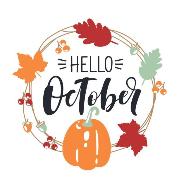 Best October Illustrations, Royalty.