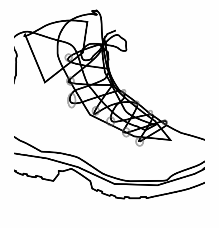 Hike Clipart Boot Print.