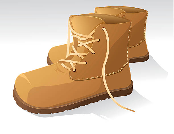 Best Work Boot Illustrations, Royalty.