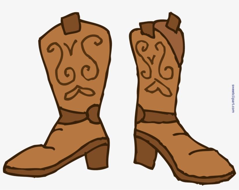 Cowboy Clipart Cowboy Boot.