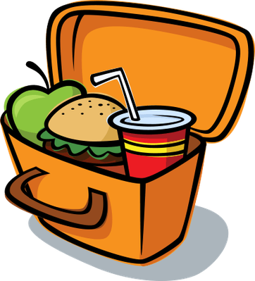 Lunch Box Clip Art.