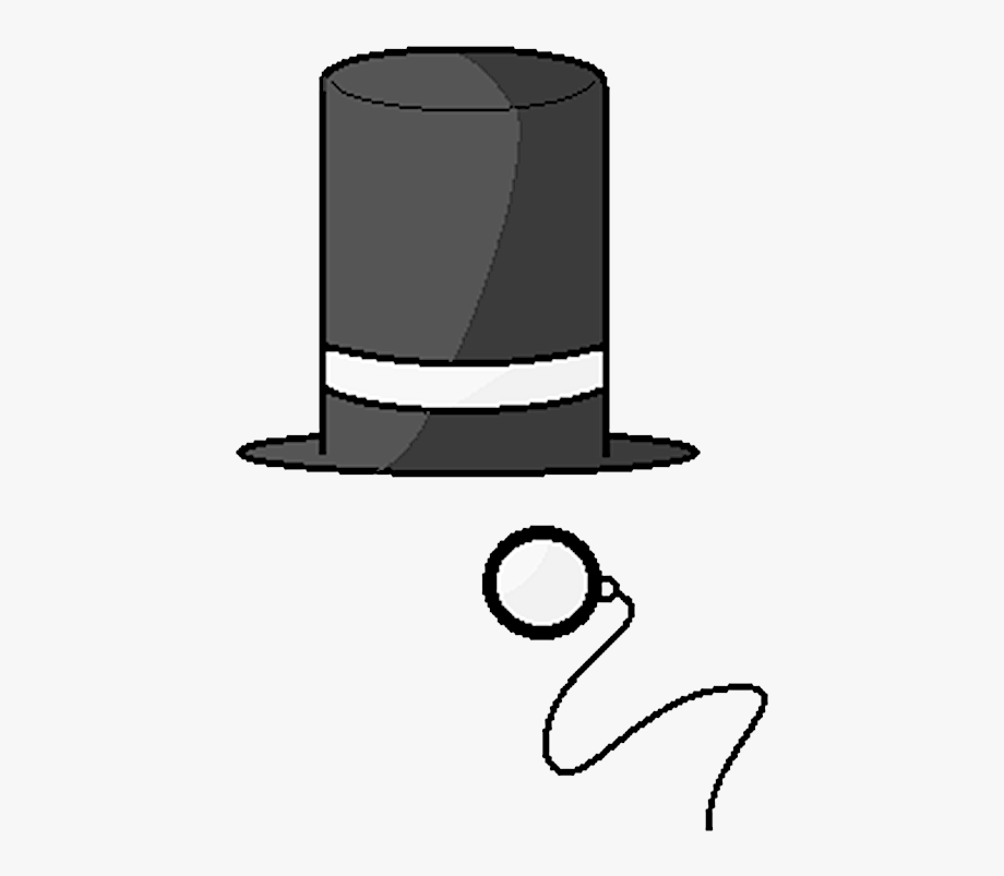 Tophat Vector Wedding Hat.