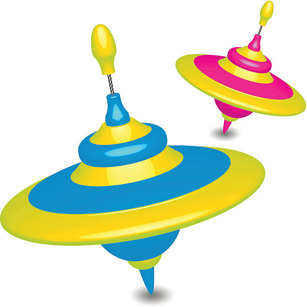 Best Spinning Top Illustrations, Royalty.