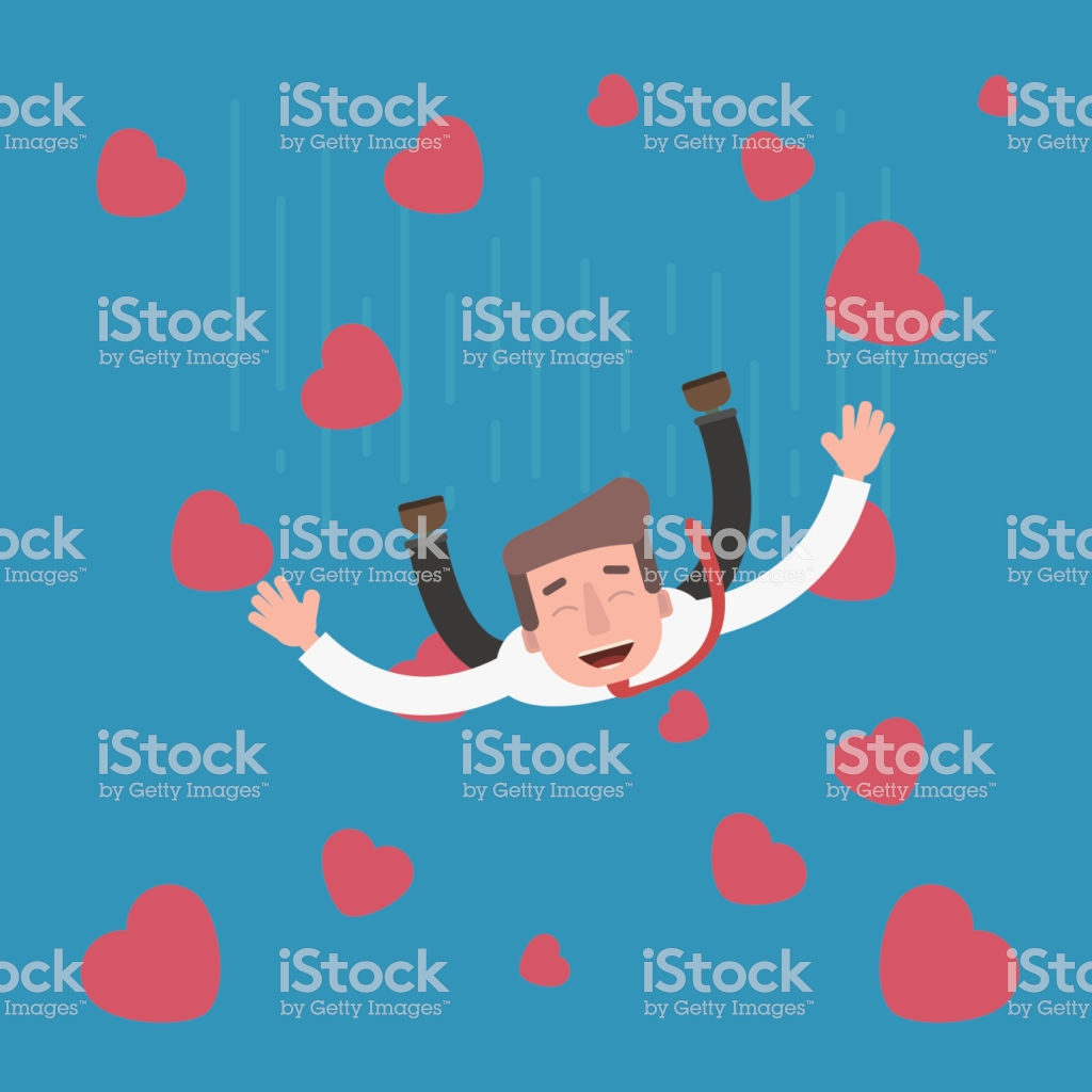 On The Seventh Heaven Flies Love People Stock Vector Art & More.