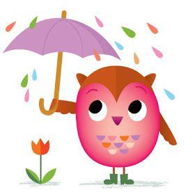April Showers Clipart.