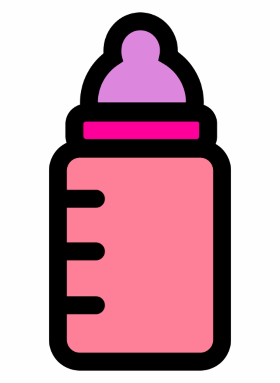 Picture Transparent Stock Baby Bottles Clipart.