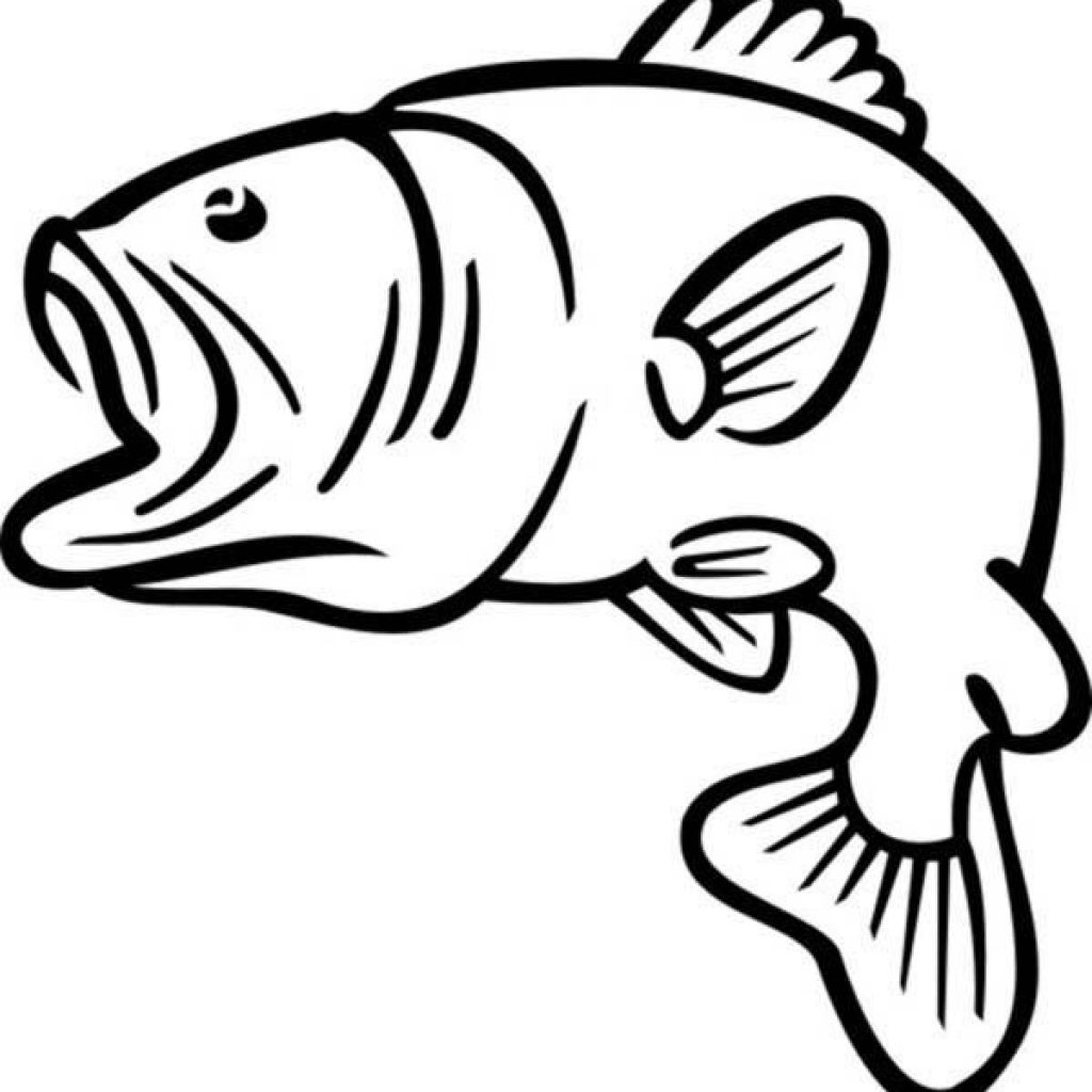 Huge Collection of 'Bass fish silhouette clipart'. Download more.