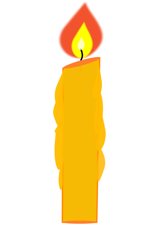 Free Birthday Candle Clipart, Download Free Clip Art, Free Clip Art.