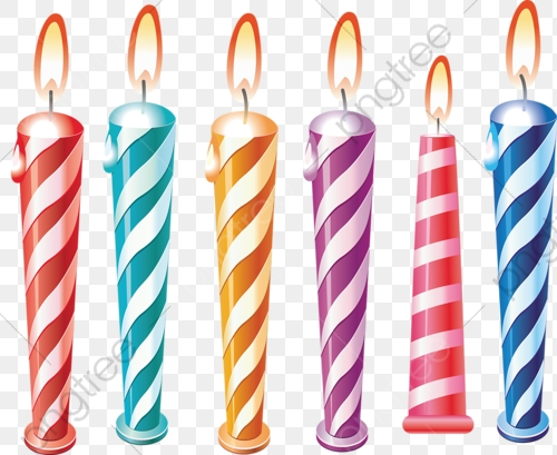 Candle, Cartoon Candle, Birthday Candles, Holiday Candle PNG.
