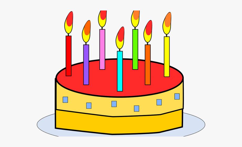 Birthday Cake Graphics.