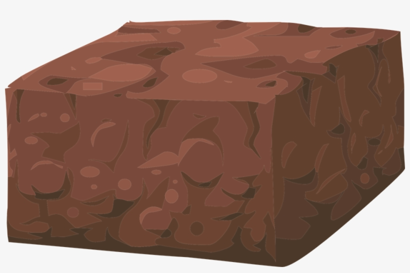 Brownie Clipart Square Chocolate.