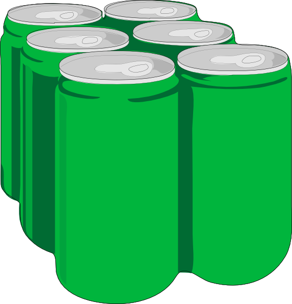 Beverage Cans W/o Shadow Clip Art at Clker.com.