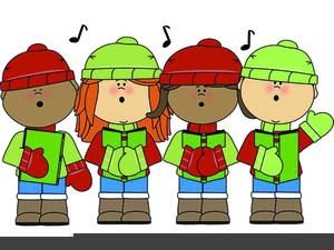 Carolers Singing Clipart.