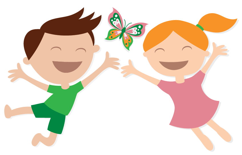 People in nature,Cartoon,Clip art,Happy,Illustration,Playing with.