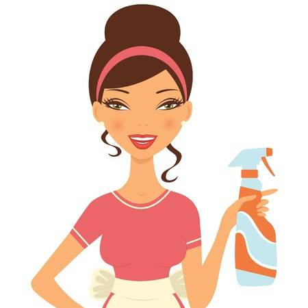 6,202 Cleaning Lady Stock Vector Illustrat #383608.