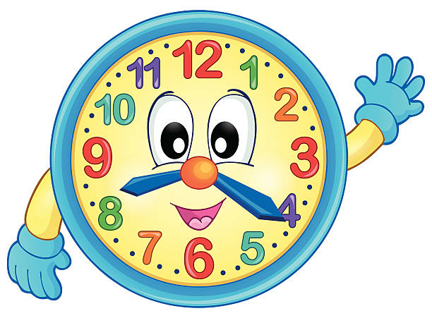 Best Clip Art Of Clock Face With Hands Illustrations, Royalty.