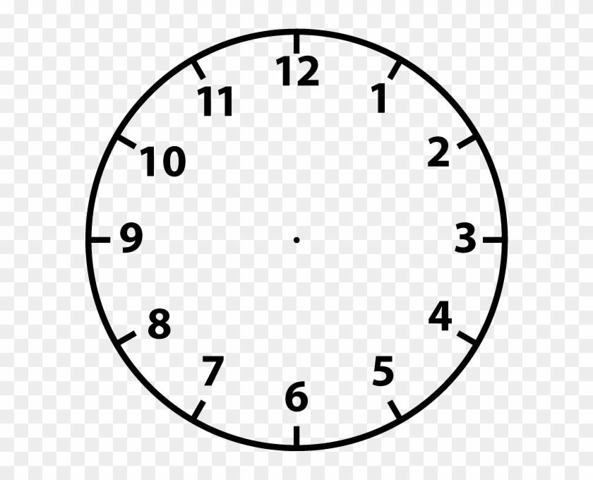 Clock Face Clip Art.