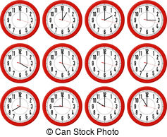 Clocks Illustrations and Clipart. 201,545 Clocks royalty free.