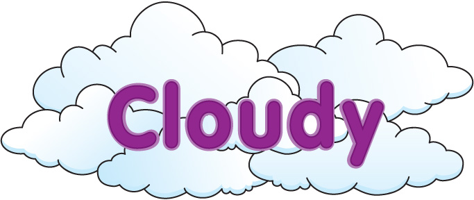 Cloudy day clipart 9 » Clipart Station.