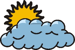 Cloudy Weather Clipart.