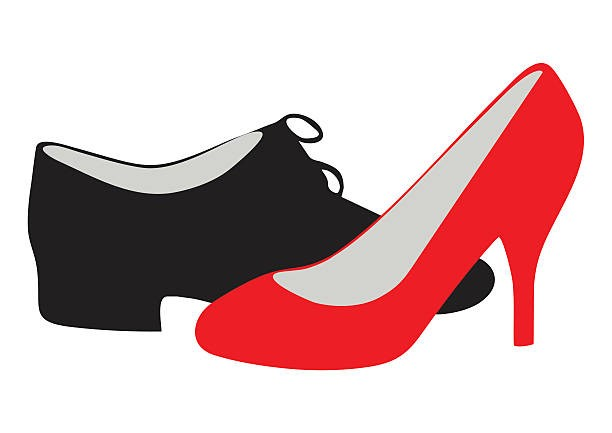 Interesting Dance Shoes Clip Art Exciting Clipart Shoe Silhouette 25.