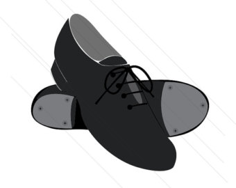 Tap Shoes Clipart.