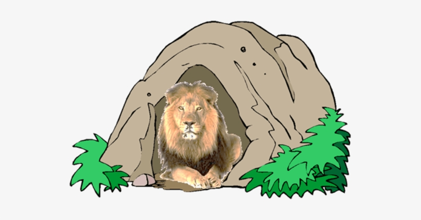 Lion Den Clipart.