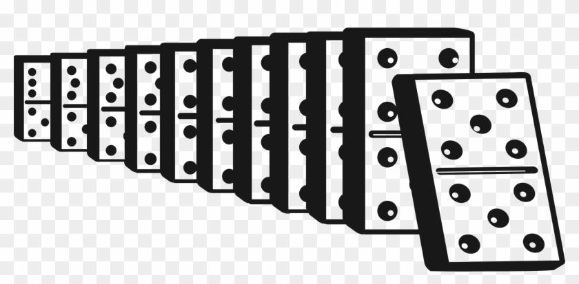 Clip Art Stock Domino Clipart.