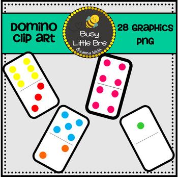Domino Clip Art & Worksheets.
