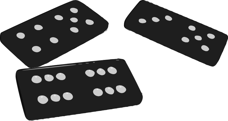 Free Clipart: Dominoes.