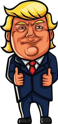 18 Best [FREE] Donald Trump Clipart images in 2018.