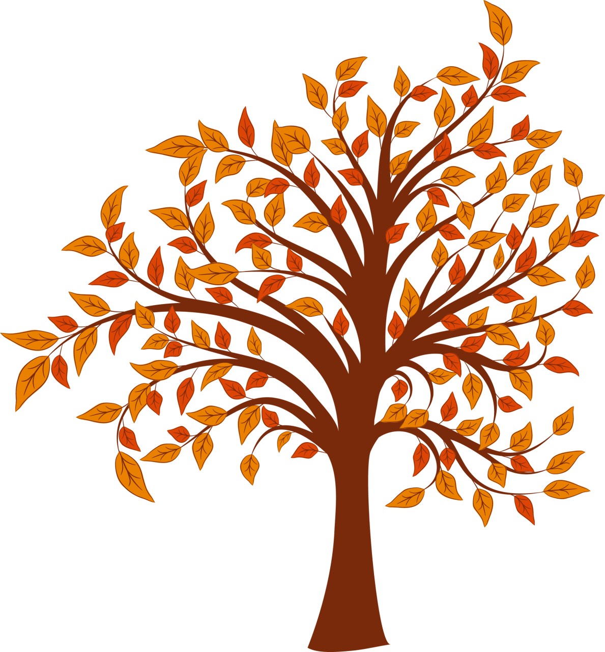 Fall Tree Cliparts.