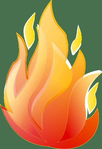 Clipart fire flames 1 » Clipart Portal.