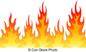 6+ Fire Flames Clip Art.