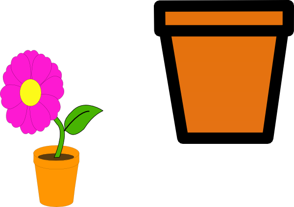 Free Flower Pot Outline, Download Free Clip Art, Free Clip Art on.