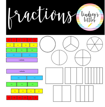 Free Fractions Clip Art.