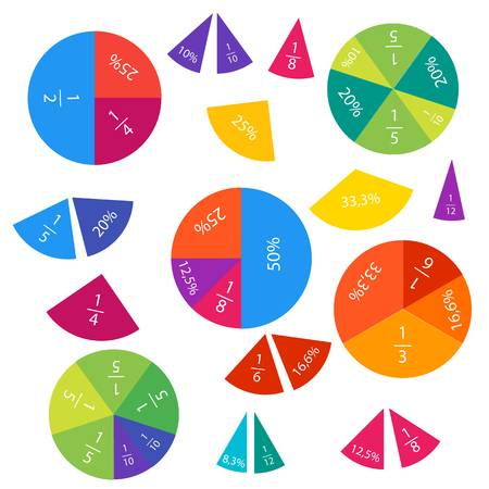 157 Fractions Cliparts, Stock Vector And Royalty Free Fractions.