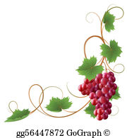 Grape Vine Clip Art.