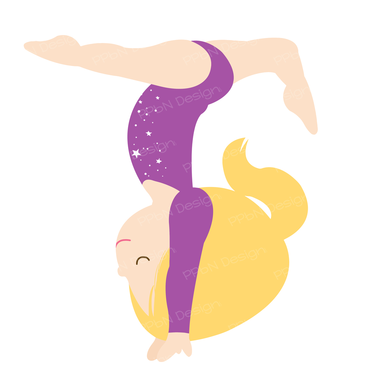 Cartoon Gymnastic.