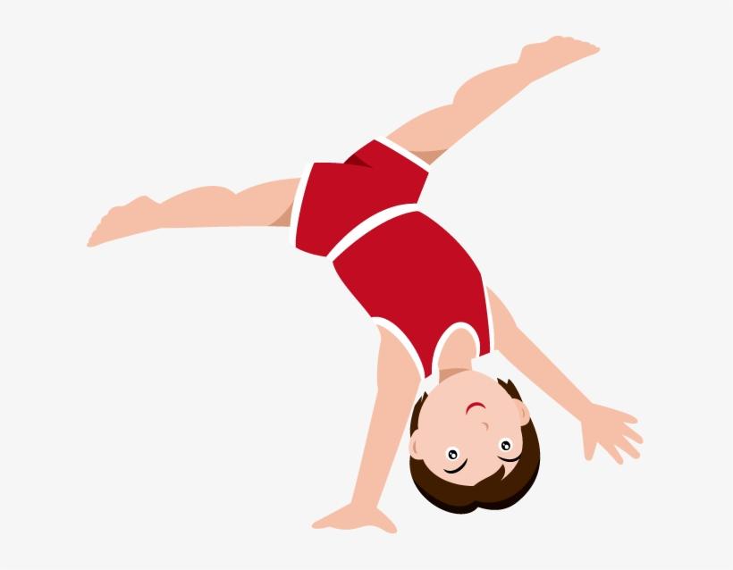 Boy Gymnast Clipart.