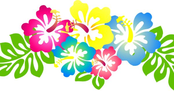 46+ Hawaiian Flower Clip Art.