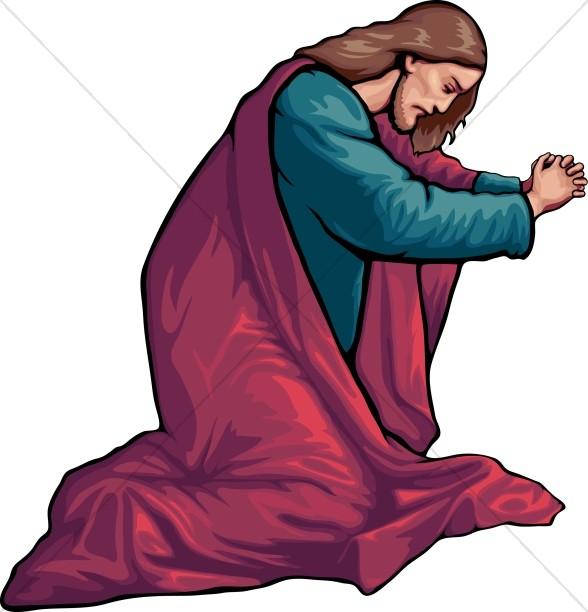 Jesus in Prayer.
