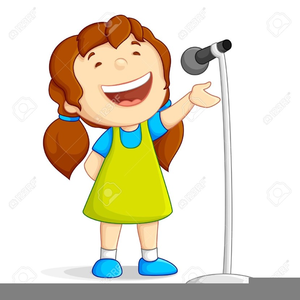 Free Clipart Kids Singing.