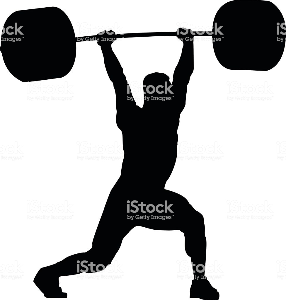 Weightlifting Clipart Free & Clip Art Images #20838.