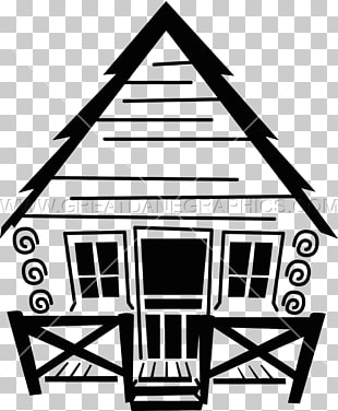 Log cabin Cottage graphics, cabin PNG clipart.