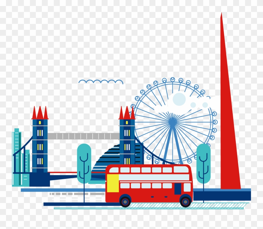 London Clipart Ferris Wheel London.